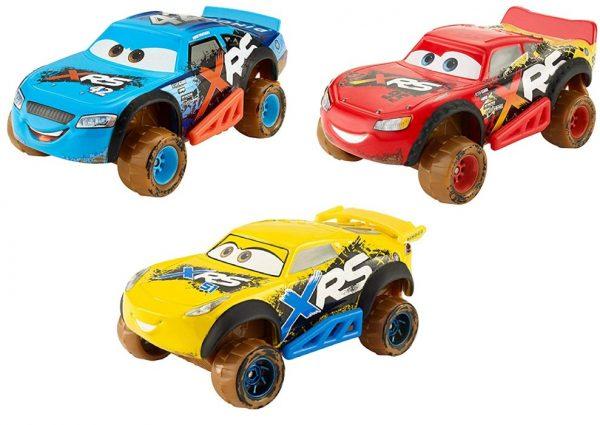 Disney Cars XRS Mud Bilar 3-Pack